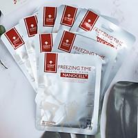 Combo 10 Mặt Nạ Da Sinh Học Dưỡng Da Ngăn Ngừa Lão Hóa COKO NANOCELL Freezing Time Mask (23g)
