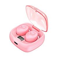Tai nghe nhạc Bluetooth không dây siêu Mini fullbox, chống nước và chống bụi IPX5 - Hàng chính hãng