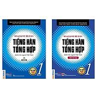 Trọn bộ Giáo trình tiếng Hàn tổng hợp dành cho người Việt Nam – Sơ cấp 1 bản màu + sách bài tập-NH