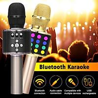 Wireless Handheld Microphone Bluetooth Portable Karaoke Stereo Player