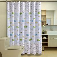 Rèm Phòng Tắm Vuông Dày Chống Thấm Nước Mercure (180 x 200cm)