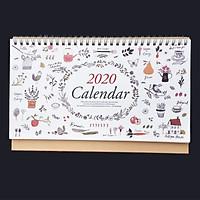 Lịch Để Bàn 2020 Grow Flowers