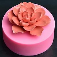 Khuôn silicon hoa sen nước
