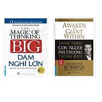 Sách - Combo Dám nghĩ lớn (Bìa cứng) + Đánh thức con người phi thường trong bạn (Bìa cứng)