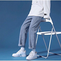 Quần Baggy, quan jean xuong,quần bò nam, nữ ,dáng ống suông, rộng nam- hot trend 2021