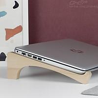 Giá Đỡ Laptop FAS.AGU / Kệ Laptop Gỗ / Kệ Macbook / Giá Đỡ cho máy tính 13 - 17 inch +