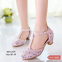 Giày cao gót bé gái GA71 (size cho bé 4 - 12 tuổi)