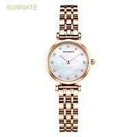 Đồng hồ Nữ SUNMATE S20018-1LB Máy Pin (Quartz) Dây Thép Không Gỉ