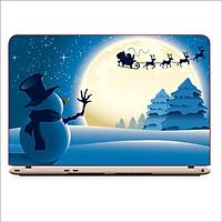 Miếng Skin Dán Decal Laptop Giáng Sinh 2019 - Mã: DCLTGS 022