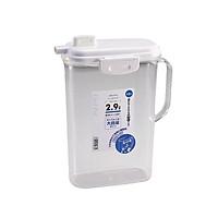 Bình đựng nước nhựa trong có khóa vòi 2,9L - Hàng nội địa Nhật Bản