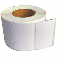 Decal thường 100x150mm, cuộn 50m, 1 tem/ hàng in mã vạch tên, nhãn sản phẩm