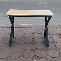Bàn học chân sắt chữ K mặt bàn gỗ công nghiệp
