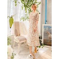 Đầm thiết kế nude hoa cam Alida Dress Gem Clothing SP001131