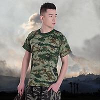 Áo Thun Nam Lính Mỹ - Áo Phông Nam cotton Quân Đội Rằn Ri