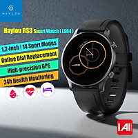 Haylou RS3 Smart Watch (LS04) Sports Bracelet 1.2-Inch AMOLED HD Display BT5.0 Fitness Tracker 14 Workout Modes/GPS