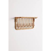 Móc Mây Treo Trường Thiết Kế Cổ Điển- Rattan Wall Hook in Classic Style -AS033