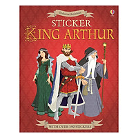 Usborne Sticker Dressing King Arthur