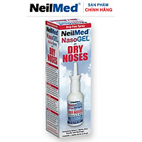 Gel Xịt Chống Khô Mũi, Hỗ Trợ Điều Trị Chảy Máu Cam, Làm Mềm Vãy Mũi - NeilMed NasoGel  Spray - Xuất Xứ Mỹ