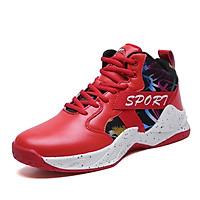 Giày Bóng rổ nam New23 TPR Mẫu mới 2020 chống trơn trượt màu Trắng - Đỏ - Đen (size 39-44)