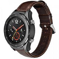 Dây da Size 20 cho Galaxy Watch 42, Galaxy Watch Active Hoco_Hàng NHập Khẩu