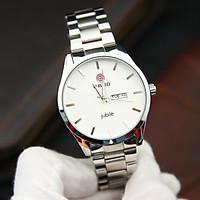 Đồng hồ nam RA3051 dây thép cao cấp không gỉ mặt kính chống xước, chống nước – Thiết kế đơn giản – Lịch lãm
