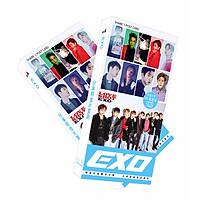 Hộp Postcard exo 340 ảnh (3 ver)