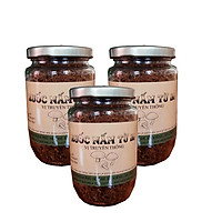 3 hũ ruốc nấm chay Bông Sen Xanh (200g)