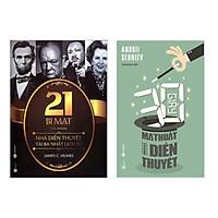 Combo Tuyệt Chiêu Diễn Thuyết Hấp Dẫn: 21 Bí Mật Của Những Nhà Diễn Thuyết Tài Ba Nhất Lịch Sử + 30 Giây Ma Thuật Trong Diễn Thuyết (Bộ 2 cuốn sách Kỹ Năng Sống bán chạy - Tặng kèm bookmark Green Life)