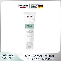 Sữa Rửa Mặt Tạo Bọt Cho Da Mụn Eucerin Pro Acne Solution Gentle Cleansing Foam 150ml