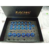 ốc áo dành cho xe exciter 135 5 số (2011) 25c [hai màu xanh, trắng inox để lựa chọn]