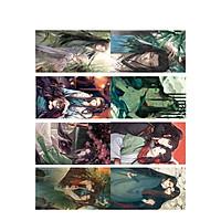 Poster 8 tấm A4 Hệ Thống Tự Cứu Của Nhân Vật Phản Diện anime đam mĩ tranh treo album ảnh in hình đẹp (MẪU GIAO NGẪU NHIÊN)