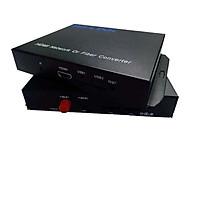 Bộ chuyển đổi hdmi sang quang Ho-link HL-HDMI-1F-20T/R (2 thiết bị) - Hàng Chính Hãng