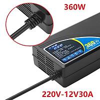 Bộ chuyển đổi nguồn 220V sang 12V-30A công suất 360W WM-220-12