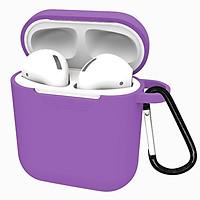 Case / Hộp đựng tai nghe Airpods 1 - Silicone mịn - Hàng Chính Hãng