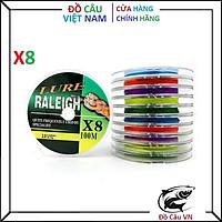Dây dù câu cá Lure Raleigh X8 dài 100m