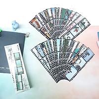 Bộ 30 Bookmark Đánh Dấu Sách Ký Ức Xưa