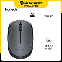 Chuột Không Dây Logitech M170 (Đen) - Hàng Chính Hãng