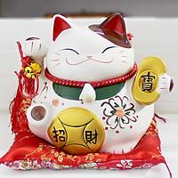 Mèo thần tài nhật bản may mắn–Tiền vàng may mắn 0901-18cm