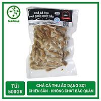 [Chỉ Giao HCM] - Chả Cá Thu Ảo Dạng Sợi Chiên Sẵn, Tiện Lợi - Túi 500Gr - Foodmap