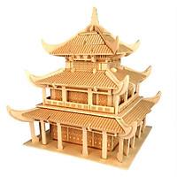 Mô hình lắp ghép 3D bằng gỗ Nhạc Dương Lâu
