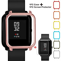 Colorful PC Case Cover Protect Shell For Xiaomi Huami Amazfit Bip Youth Watch