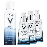 Bộ Xịt Khoáng Dưỡng Da Vichy Mineralizing Thermal Water (150ml) + Tặng Dưỡng Chất Giàu Khoáng Chất Mineral 89