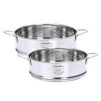 2pcs Vegetable Steamer Basket Inserts  Stainless Steel Cooker