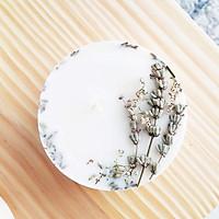 Nến hương hoa lavender Pháp và hương gỗ sồi