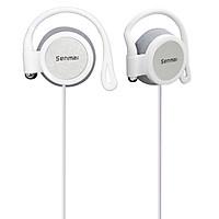 Tai nghe On-ear Super Bass Senmai SM-E8023 kiểu ngoắc tai, Jack kết nối 3.5mm, không có Bluetooth (Màu ngẫu nhiên) - Hàng Nhập Khẩu