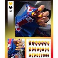 Bộ 24 móng tay giả nail thơi trang như hình (N2)