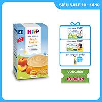 Bột ăn dặm dinh dưỡng Sữa, Đào, Mơ tây HiPP Organic 250g