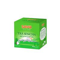 Trà SAVO Sencha (Sencha Tea) - Hộp 12 Túi x 2g (Pyramid)