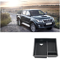 Car Armrest Center Console Central Handrails Box Storage For Toyota Hilux Armrest Container Stowing Box
