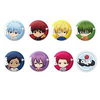 Huy hiệu in hình anime Kuroko No Basket Tuyển Thủ Vô Hình anime chibi dễ thương huy hiệu cài áo (MẪU GIAO NGẪU NHIÊN)